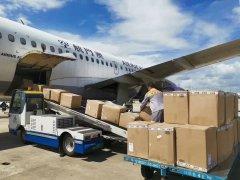 航空货运提货时发现货物